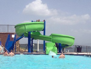 children water slide water park play