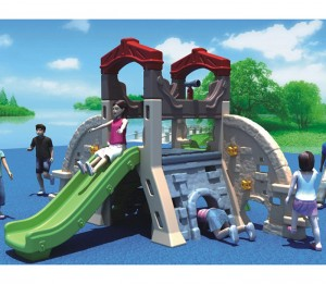 New design kids plastic playhouse