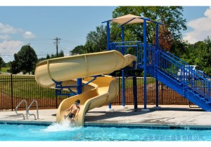 swimming pool water games water park slides