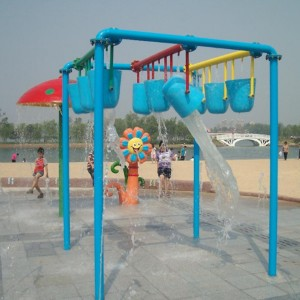 2019 kids water park playground water play equipment