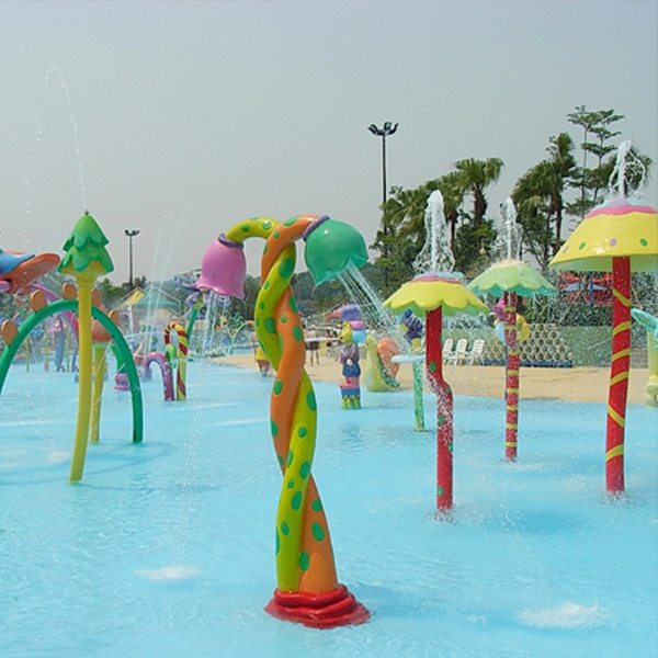 Reasonable price for Water Flower Spray Column Structure for Summer Kids Play for Boston Factory