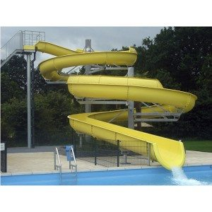 New Arrival China Aqua Park Equipment Fiberglass Water Slide to Georgia Manufacturers
