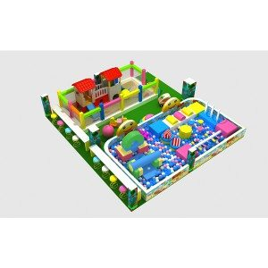 Soft Indoor Playground for Kindergarten/Preschool Children