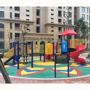Awesome Plastic Children Outdoor Playground Slide