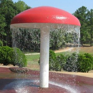 Water Park Used Water Spray Mushroom