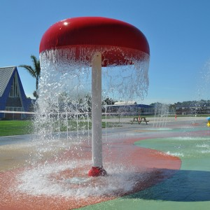 swimming pool decoration water spray equipment water spraying mushroom