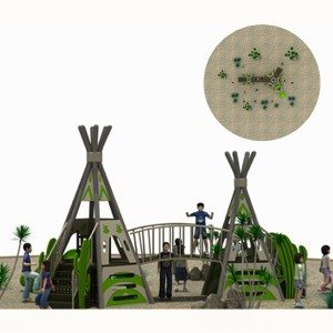 2017 New Style Outdoor Playground Slide for Kids Park Export to Romania