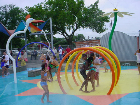 Aqua Water Spray Amusement Water Park Equipment Equipment Water Cannon for kid Featured Image