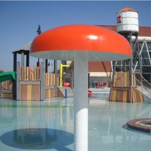 swimming pool water park play equipment water mushroom