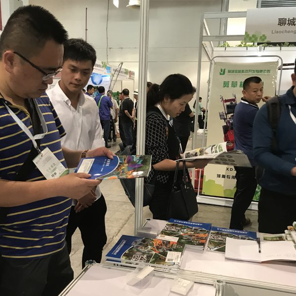 2017 Kina (Shanghai) International Landskapsarkitektur Trade Fair