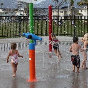 Water Play Park Water Splash Pū mō Kids