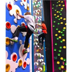 Climbing Wall for Kids Indoor Playground Zone