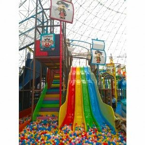 Soft Children Amusement Indoor Playground with Slide