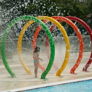 Park Water Spray Loop for Kids Pool Play