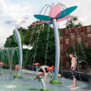 Splash Pad Water Park Equipment Outdoor Water Toys Most Popular Kids Water Play