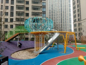 Factory Price Colorful customized Outdoor Interactive Playground equipment