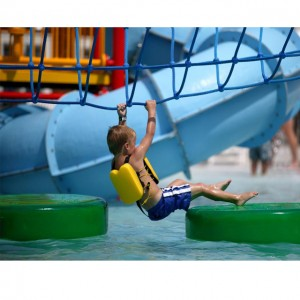 kids play lily pad for water park