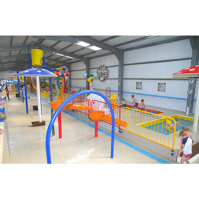 kid's aquatic playground indoor waterpark features Featured Image