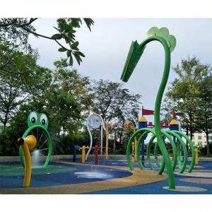 China best quality Symbio Splash Park splash pad manufacturer