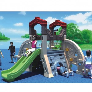 kids plastic playhouse with slide