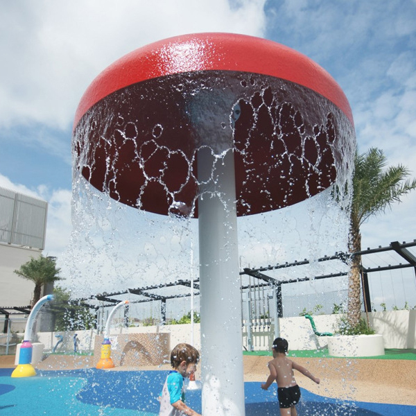 swimming pool water park play equipment water mushroom Featured Image