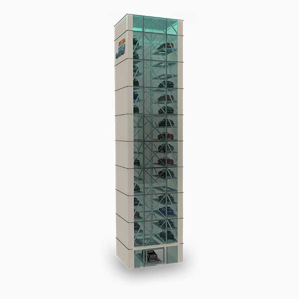 ATP : Mechanical Fully Automated Smart Tower Car Parking Systems with Maximum 35 Floors Featured Image