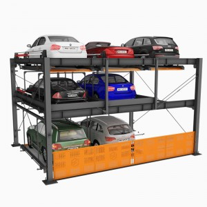 BDP-3 : Hydraulic Smart Car Parking Systems 3 Levels
