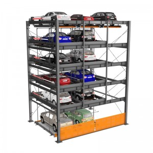 BDP-6 : Multi-level Speedy Intelligent Car Parking Lot Equipment 6 Levels