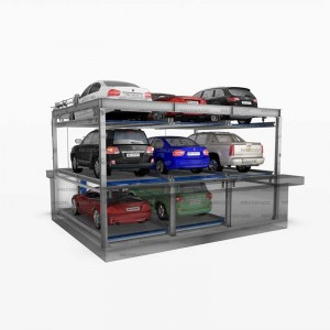 Starke 3127 & 3121 : Lift and Slide Automated Car Parking System with Underground Stackers