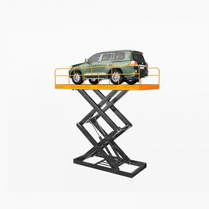China Factory for China Underground Garage Car Parking Scissor Lift