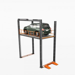 Reasonable price China CE 4 Post Car Parking Lift smart garage equipment