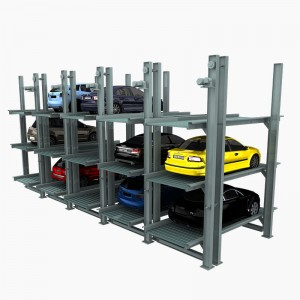 PFPP-2 & 3 : Underground Four Post Multiple Levels Concealed Car Parking Solutions