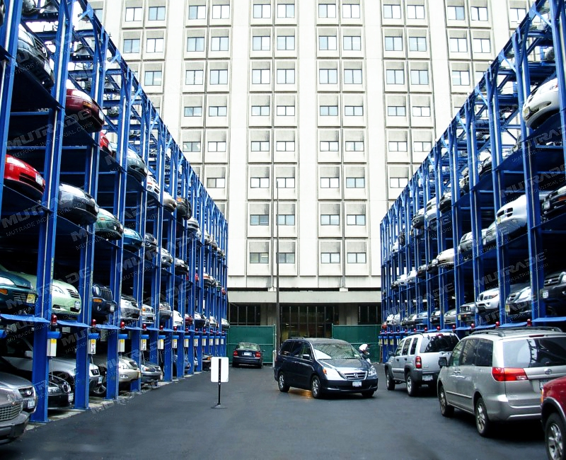 THE ADVANTAGES OF  MULTI-LEVEL PARKING