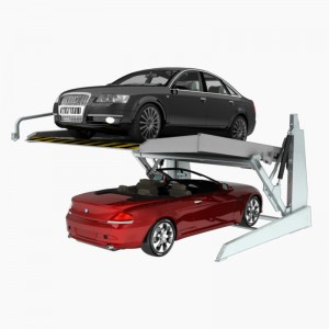 TPTP-2 : Hydraulic Two Post Car Parking Lifts for Indoor Garage with Low Ceiling Height