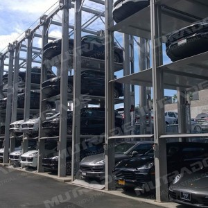 Hydro-Park 3230 : Hydraulic Vertical Elevating Quad Stacker Car Parking Platforms