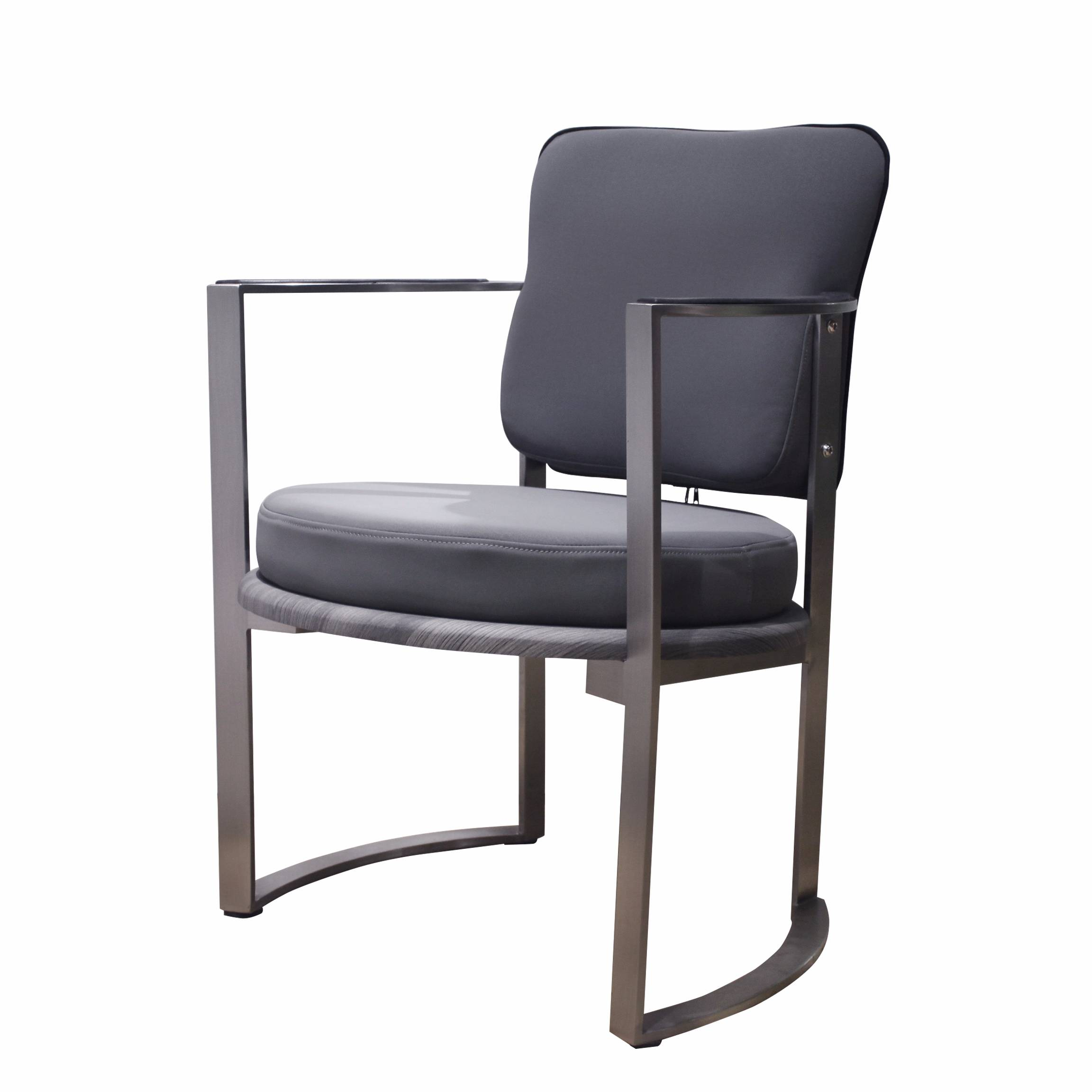 New model stainless steel frame  styling chair  for salon