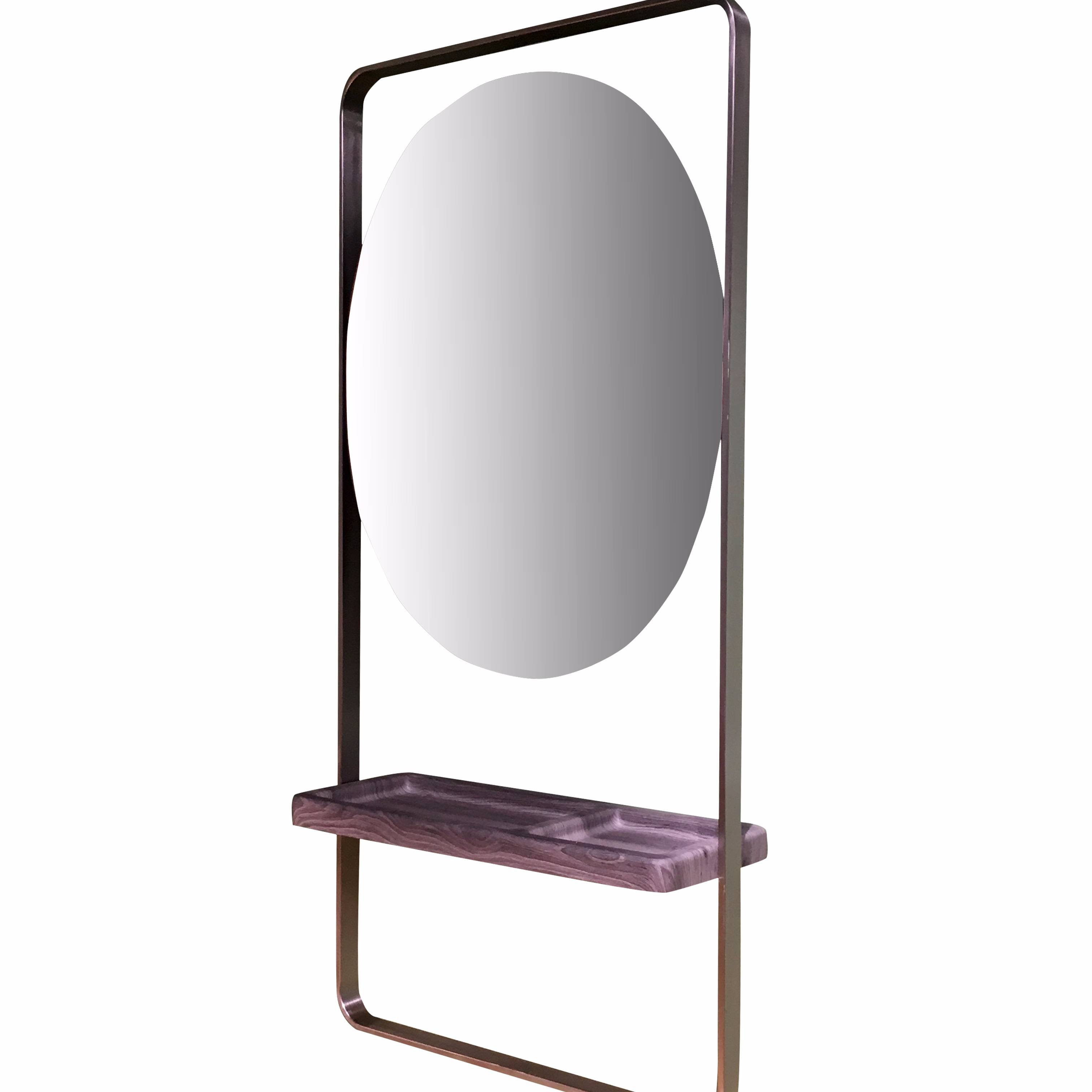 New and Fashionable Single Side Mirror Station  For Salon