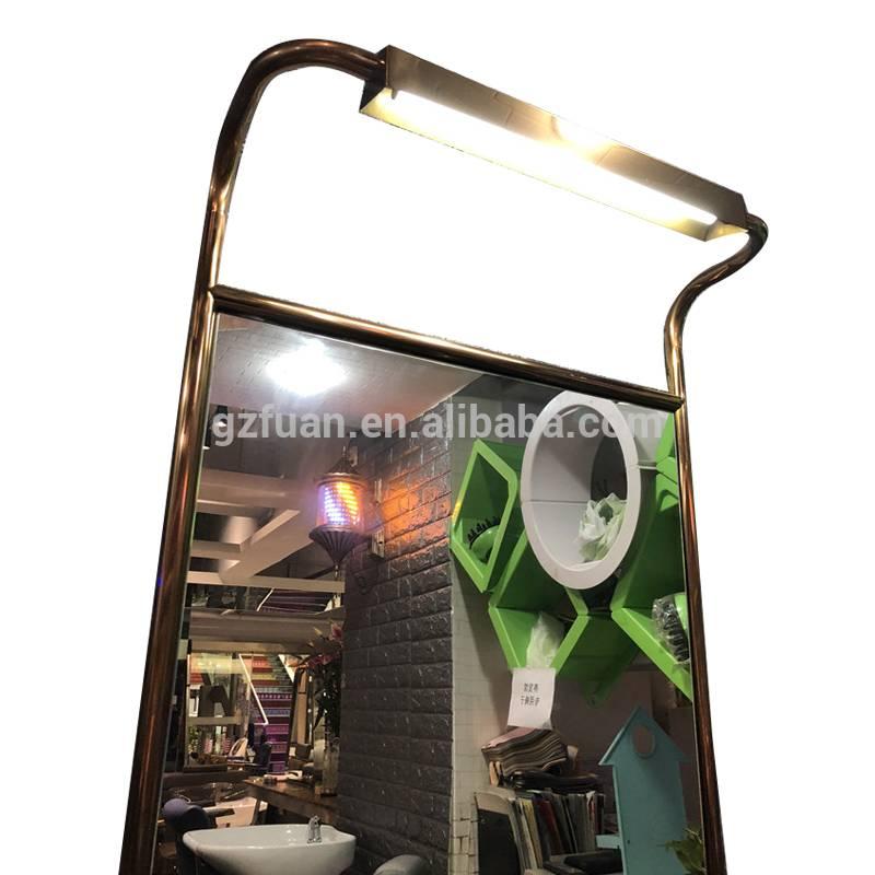 China Fashion modern design salon furniture Single side wall