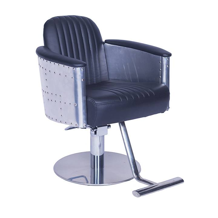 Guangzhou factory wholesale custom cheap price hair salon furniture comfort classic styling salon chairs man barber chair