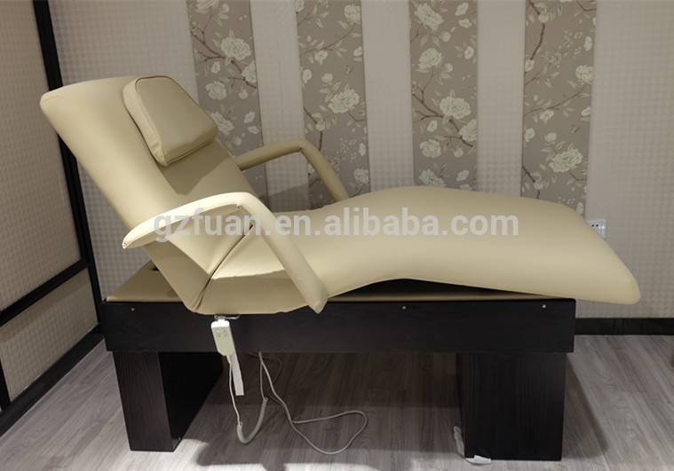 salon furniture styling used electric comfortable cheap massage bed for sale