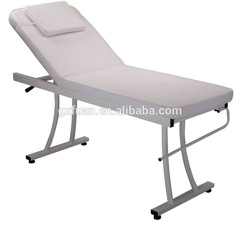 Barber shop cheap comfortable and unique salon furniture stationary portable massage table