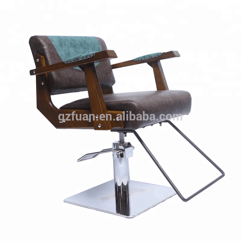 Wholesale Stainless steel armrest hydraulic pump high density sponge barber equipment Featured Image