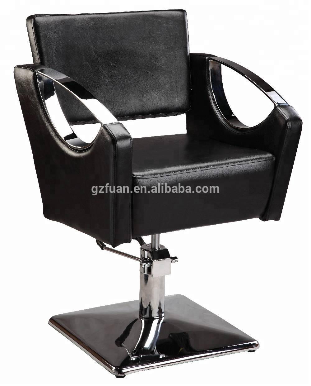 Hot sale synthetic leather hairdresser salon furniture cheap barber chair hair salon styling chair