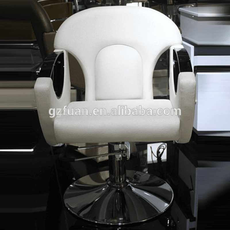 Best price modern hair salon furniture unique antique styled white barber chair styling salon reclining chair for sale cheap Featured Image