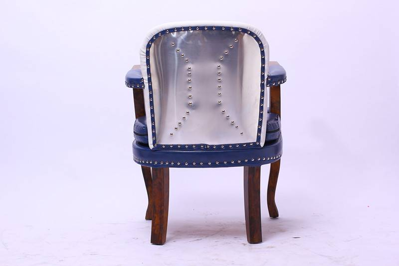 High density sponge wood frame blue barber chair for sale philippines