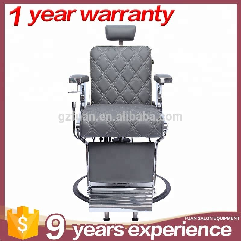 Genuine leather beauty hydraulic recline barber chair