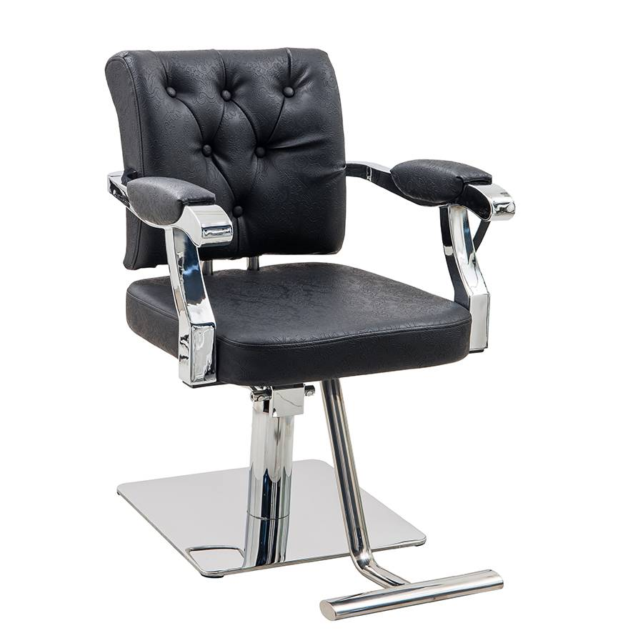 Salon furniture hair salon item black color salon styling chair