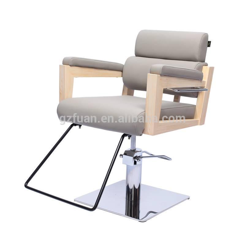 Salon furniture portable stainless steel wood painting reclining styling portable artist makeup chair for sale Featured Image