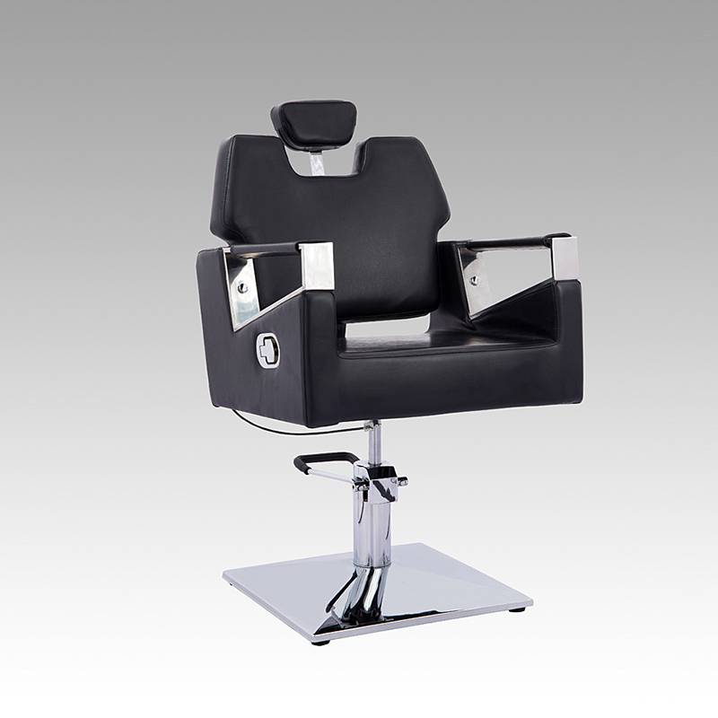 New beauty equipment salon furniture hair cutting chairs hydraulic reclining barber chair styling chair salon with headrest
