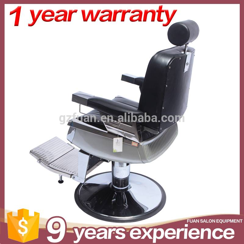 Guangzhou salon furniture manufacturers wholesale styling chair reclining man vintage classic barber chair